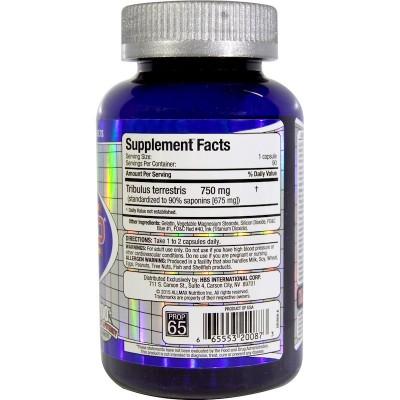 TribX90, 100% puro Tribulus Terrestris doble potencia 750 mg, 90 cápsulas de ALLMAX Nutrition ALLMAX Nutrition AMX-20087 Supl...