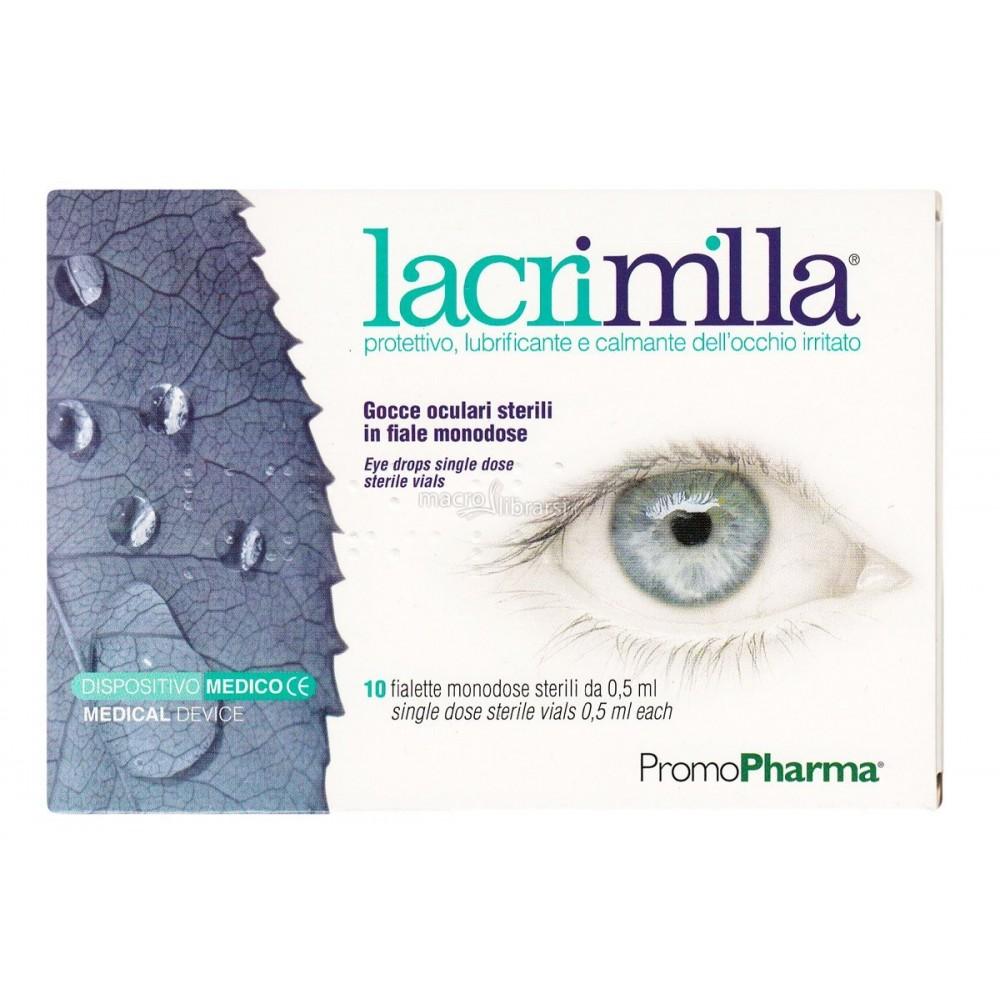 Lacrimilla 10 viales monodosis PromoPharma VY09C1 Inicio salud.bio
