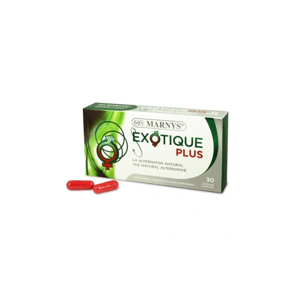 Exotique Plus en cápsulas de Marnys Marnys MN315 Salud Sexual y Fertilidad salud.bio
