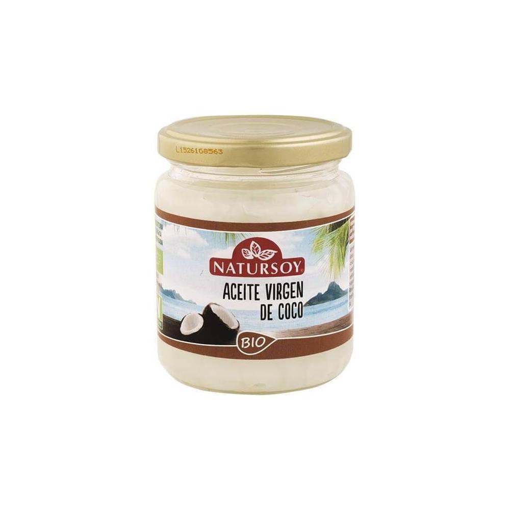 Aceite de coco desodorizado ecológico 400 gr NATURSOY Natursoy 2259 Alimentación salud.bio