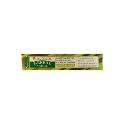 Pasta dental Herbal Nature 75 ml Natysal 13345 Dentrificos , Pasta de Dientes salud.bio