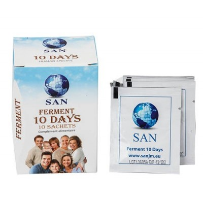 Ferment 10 Days de SAN San Probiotic Human Specific 9999000000020 Ayudas aparato Digestivo salud.bio