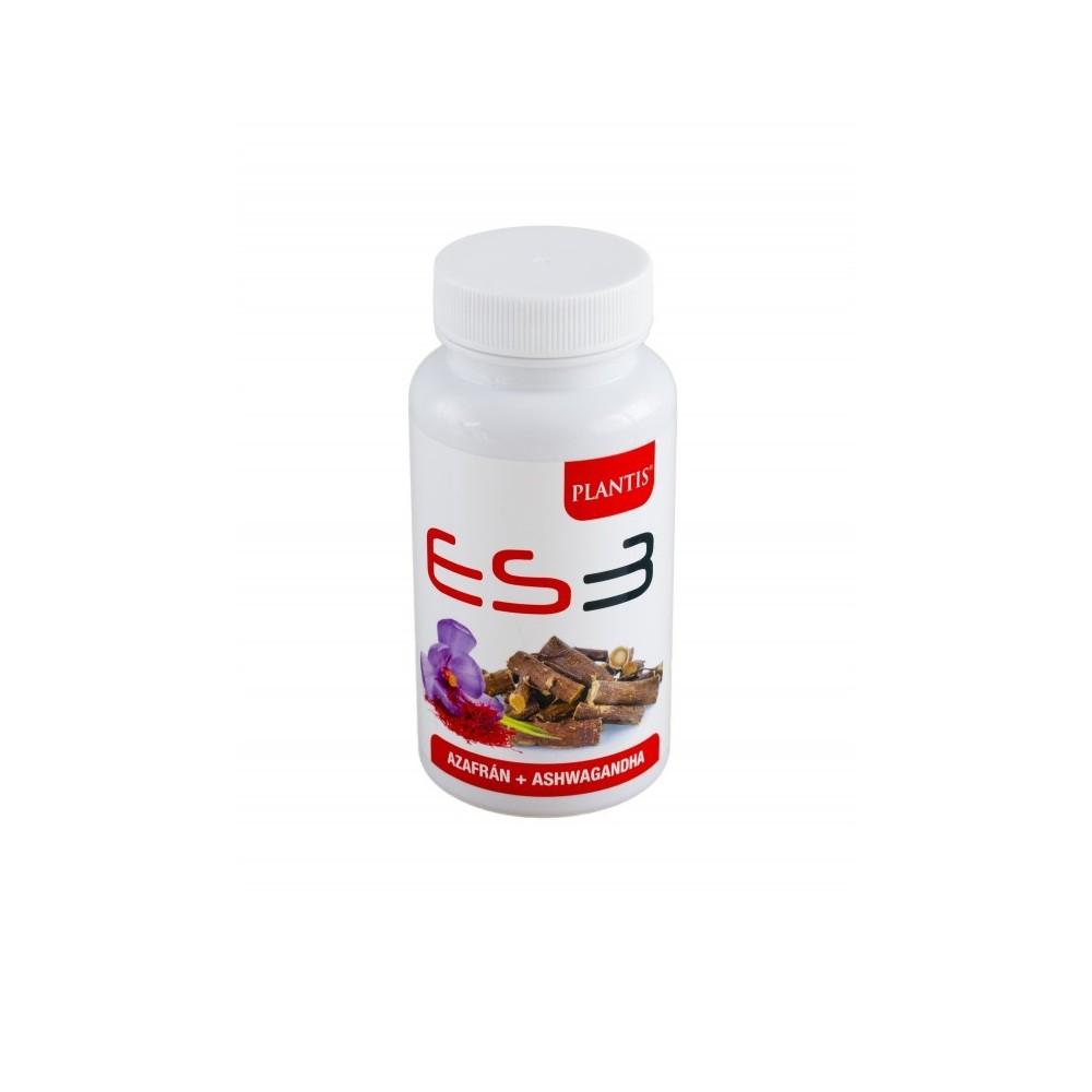 ES3 Azafran (Affron®) + Ashwagandha (KSM-66®) de PLANTIS Artesania Agricola, S.A. 080045 Estados emocionales, ansiedad, estré...