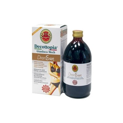 Drensun Decottopia 500ml de laboratorios Gianluca Mech Herbofarm BA B065 Control de Peso salud.bio