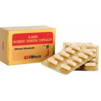 Ginseng IL HWA en cápsulas de Tongil Tongil (Estado Puro)  Complementos Alimenticios (Suplementos nutricionales) salud.bio