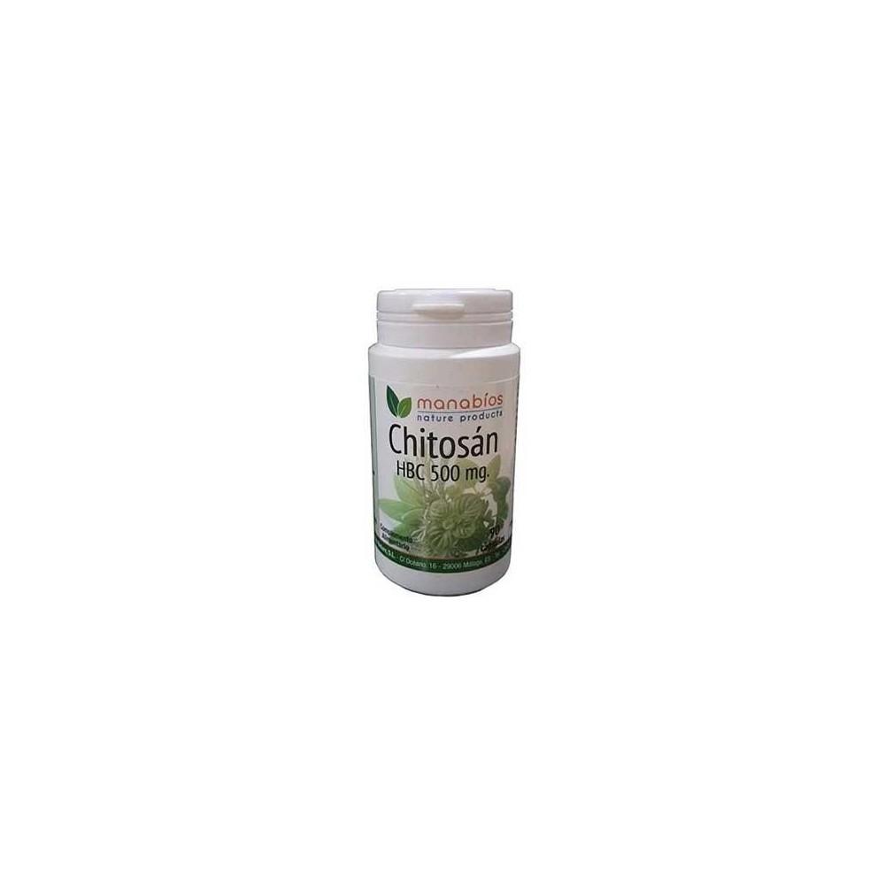 Chitosan 500mg de manabios Manabios 111516 Quemagrasas y similares salud.bio