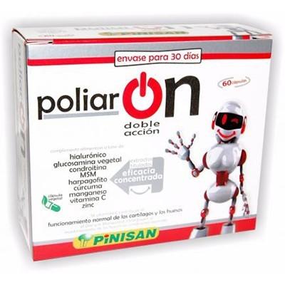 Poliar ON - Pinisan - 60 cápsulas Pinisan 10600114 Articulaciones y huesos salud.bio