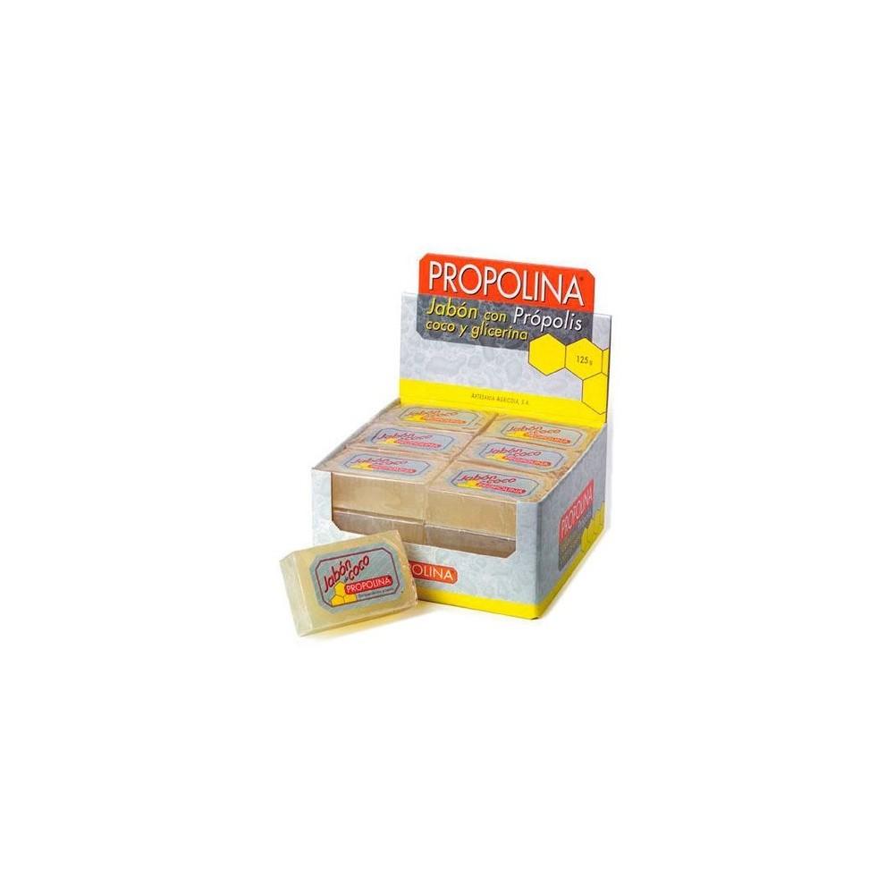 Jabón de glicerina con coco y própolis Artesania Agricola, S.A.  Cuidado externo e higiene salud.bio