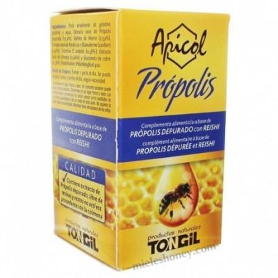 Apicol Própolis 40 Perlas de Tongil. Tongil (Estado Puro) C02 Sistema inmunitario salud.bio