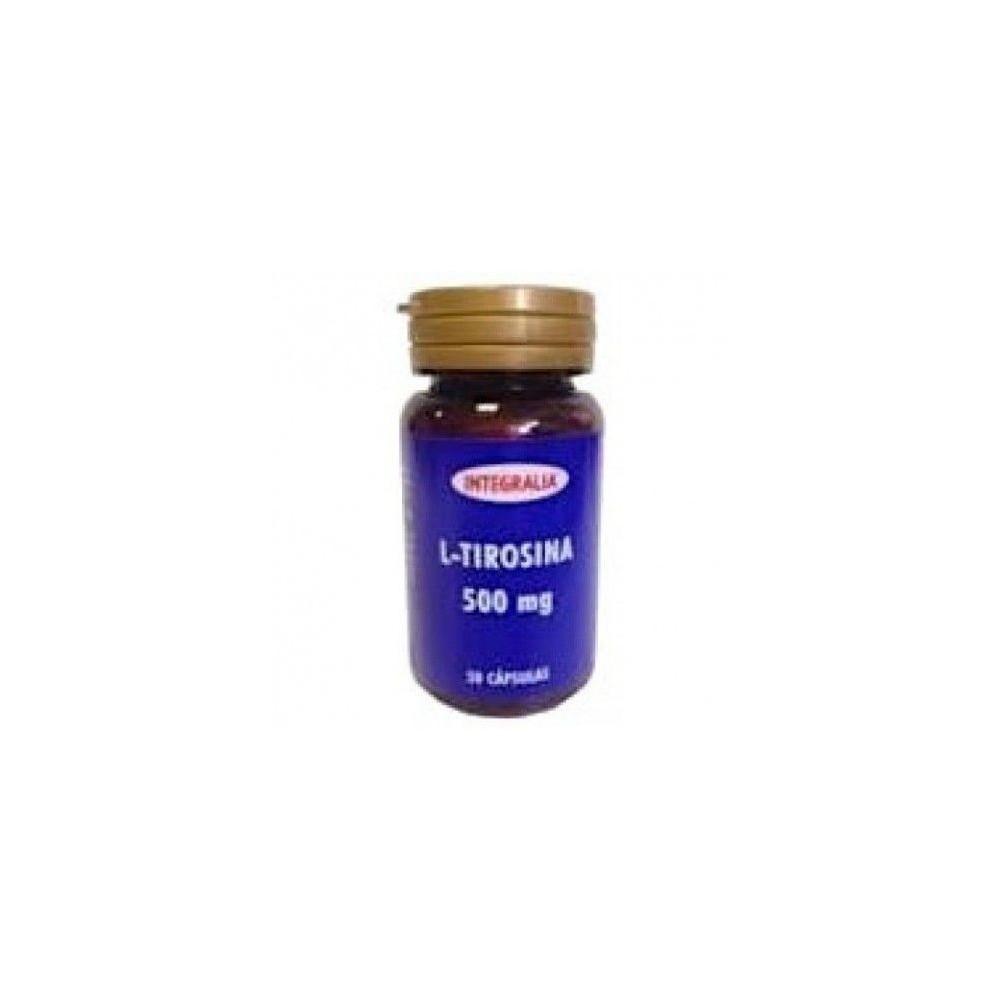 L-Tirosina 50 cásulas de Integralia INTEGRALIA 357 Aminoácidos salud.bio